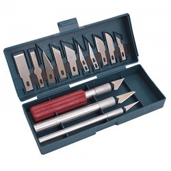 Skalpele nożyki modelarskie - zestaw