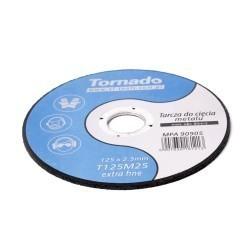 Tarcza metal płaska TORNADO 125x1.0mm