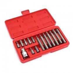 Klucze nasadowe TORX 15cz Cr.V