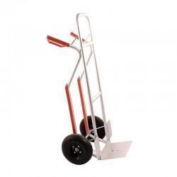 Wózek magazynowy 2-kołowy PROFi srebrny