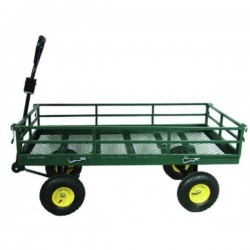 Wózek gospod ogrodowy 4 kołowy+dyszel