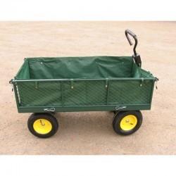 Wózek gospod ogrodowy 4 koł,dyszel,plandeka