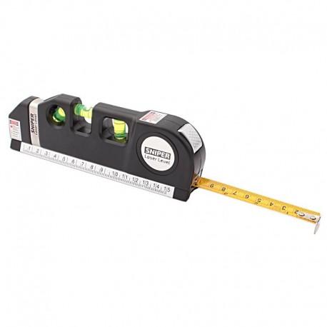 Poziomnica SNIPER laser, miara, poziomnica