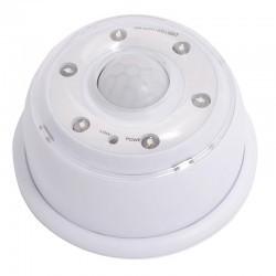 Lampka z czujnikiem ruchu 6 LED regulacja, bat