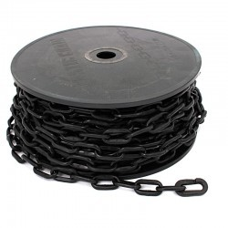 Łańcuch plastik czarny 6mm x