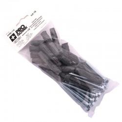Kołki rozp uniwersalne 10x60 klucz blister-18szt