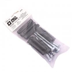 Kołki rozp uniwersalne 12x80 klucz blister-8szt