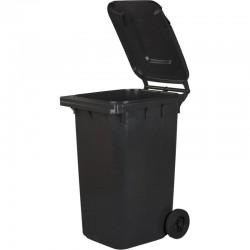 Kosz pojemnik na śmieci 240l grafitowy czarny