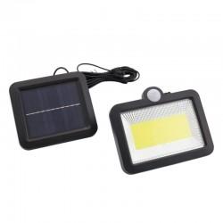 Lampa solarna zawieszana czujnik ładowarka zew.