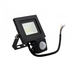 Naświetlacz LED SLIM 10W z czujnikiem