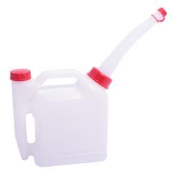 Kanister plastikowy dwukomorowy 1+0,4 benzyna
