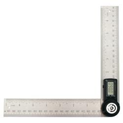 Kątownik kątomierz regulowany cyfrowy 30cm