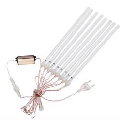 Lampa ogrodowa METEOR SHOWER biała