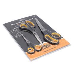 Nożyczki zestaw 3szt 140,210,240mm PRO-TECHNIK