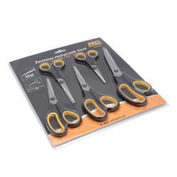 Nożyczki zestaw 5szt 140,170,190,220,250mm PRO-TEC