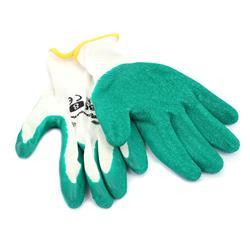 Rękawice latex marszczony 8