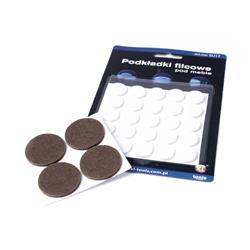 Ślizgacz filcowy 35mm blister- 4szt