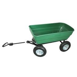 Wózek ogrodowy+kiper 75L MIDI