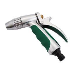 Zraszacz pistoletowy metalowy chrom PROFI