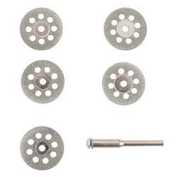 Tarcze diamentowe MINI 6szt (5+trzp)