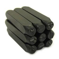 Numeratory cyfry 10mm /9 elementów