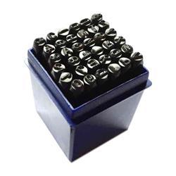 Numeratory zestaw alfanumeryczny 6mm /36