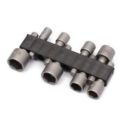 Końcówka 6-kąt zestaw 8szt: 5-6-7-8-9-10-11-12mm