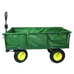 Wózek gospodaczy ogrodowy 4koł.plandeka