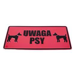 Tablica 14x29 UWAGA PSY