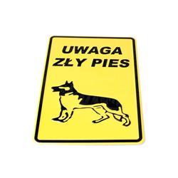 Tablica 14x20 Uwaga zły pies