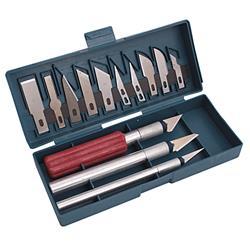 Skalpele nożyki modelarskie - zestaw 13szt-34527