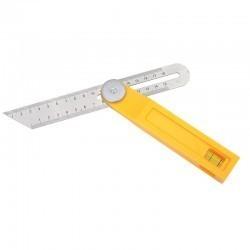 Kątownik skośnica 30cm regulowana+poziomnica