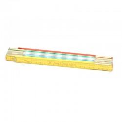 Miara drewniana 2m PRO-TECHNIK kolor,sprężyna