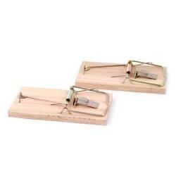 Myszołapka drewniana kpl 2szt/zawieszka