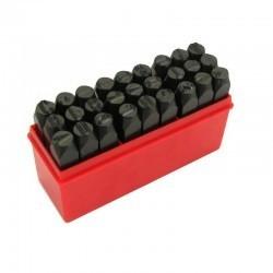 Numeratory litery 10mm /27 elementów