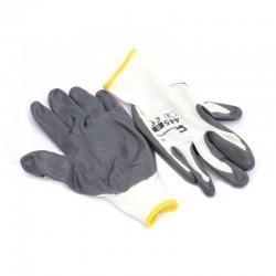 Rękawice NITRYL szare ''9'' 445